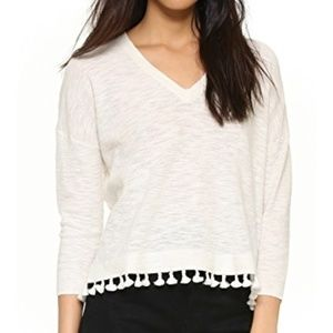 Madewell Sweaters - Madewell Globe Fringe Sweater (Ivory)